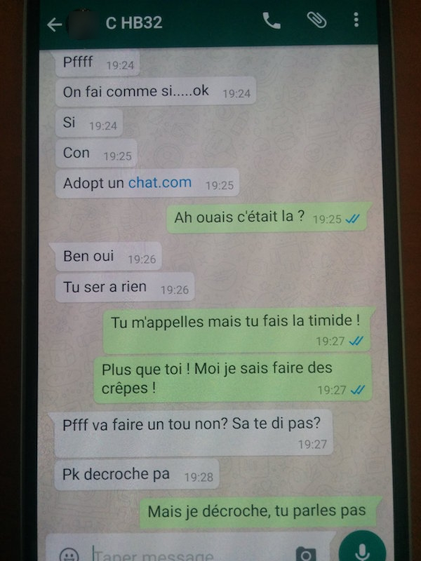 Site rencontre whatsapp