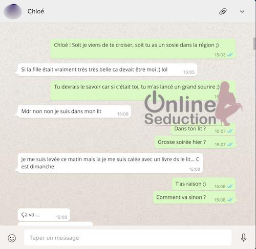 Rencontre femme par whatsapp