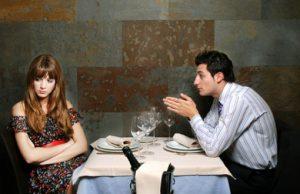 conversation difficile avec une fille