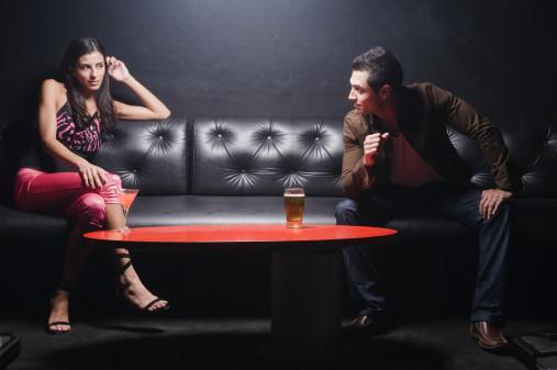 blanc dans la conversation pour draguer une fille