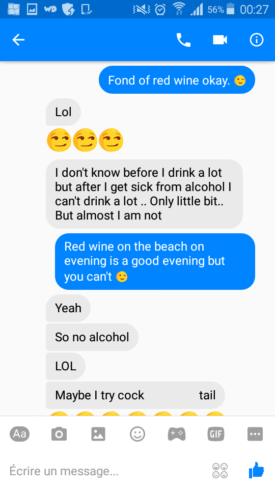 Sexualisation cocktail