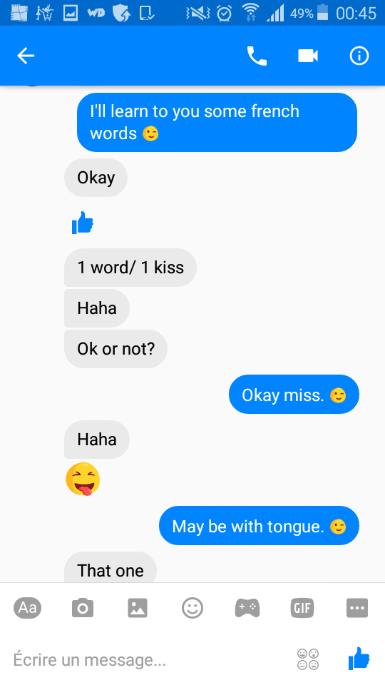 Cours de langue en anglais