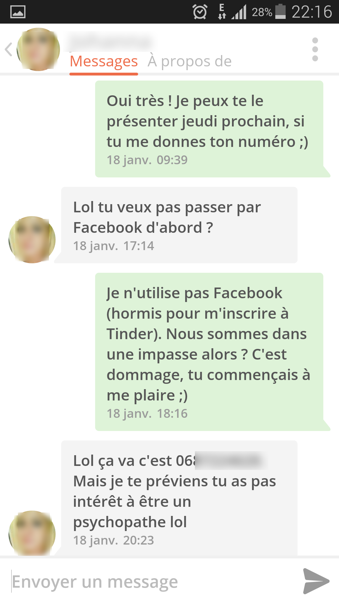 Fille rencontres internet