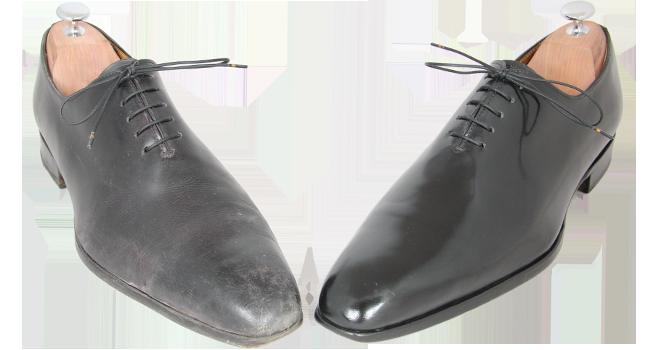 chaussure-pas-cire-vs-cire