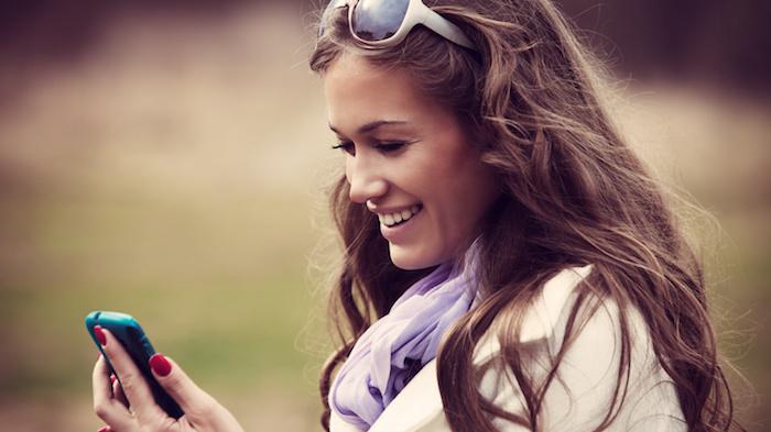 Relancer une fille par SMS