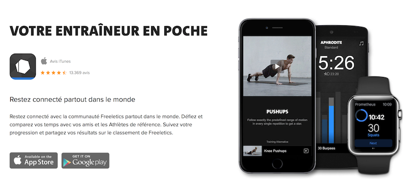 application-freeletics