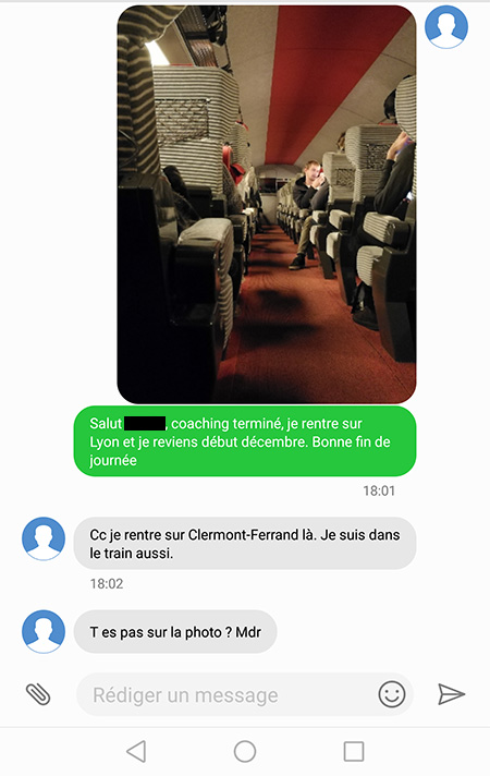 Comment draguer par SMS3