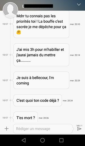 sms flirt femme