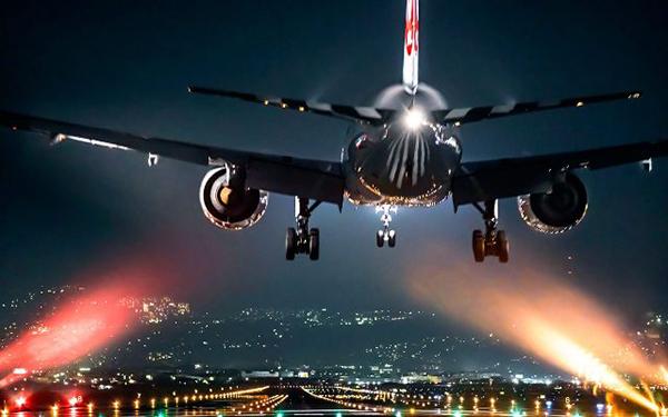 sexe en avion de nuit